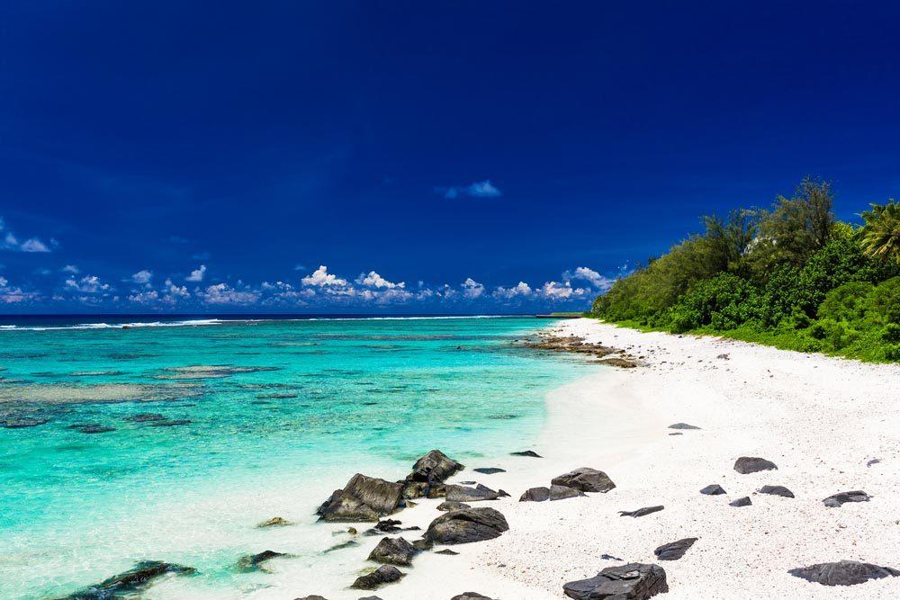 Les Îles Cook font parties des îles qui disparaîtront d'ici 80 ans.