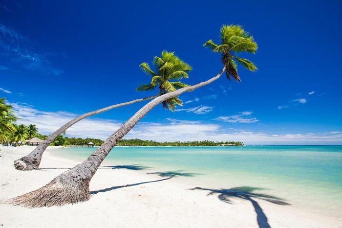 Les îles Fiji font parties des îles qui disparaîtront d'ici 80 ans.