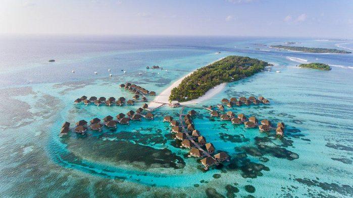 Les Maldives font parties des îles qui disparaîtront d'ici 80 ans.