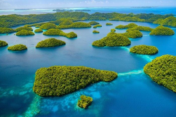 Les palaos font parties des îles qui disparaîtront d'ici 80 ans.