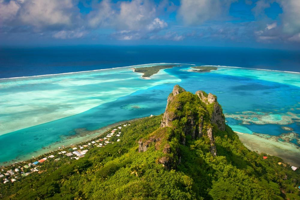 La Polynésie française fait partie des îles qui disparaîtront d'ici 80 ans.