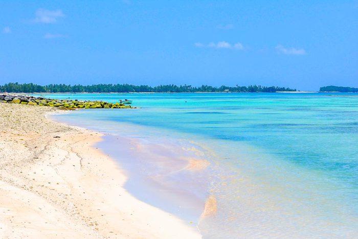 Les Tuvalu font parties des îles qui disparaîtront d'ici 80 ans.