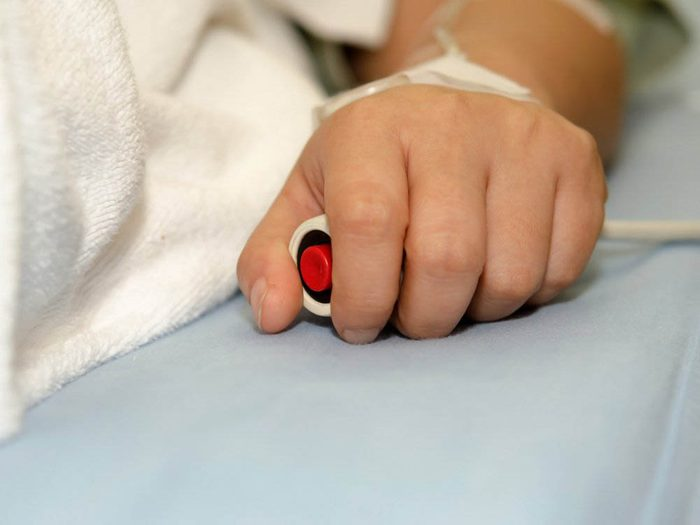 N'attendez pas que la douleur soit insupportable pour la signaler aux infirmières.