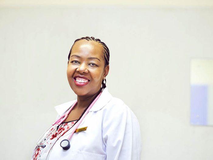 Les infirmières sont les premières à pouvoir vous sauver.