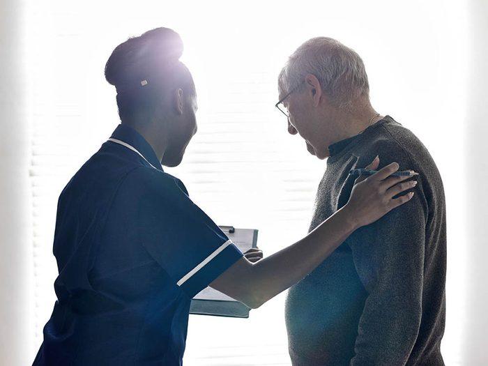 Les infirmières conservent une éthique en tout temps.