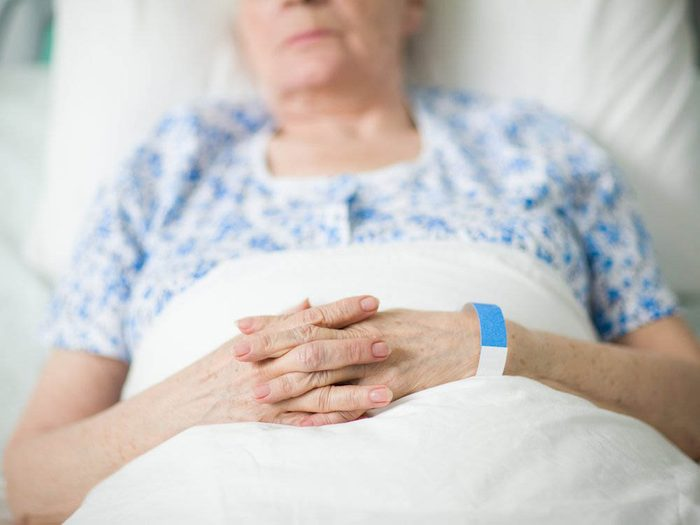 Les infirmières savent que les plus malades sont souvent les plus discrets.