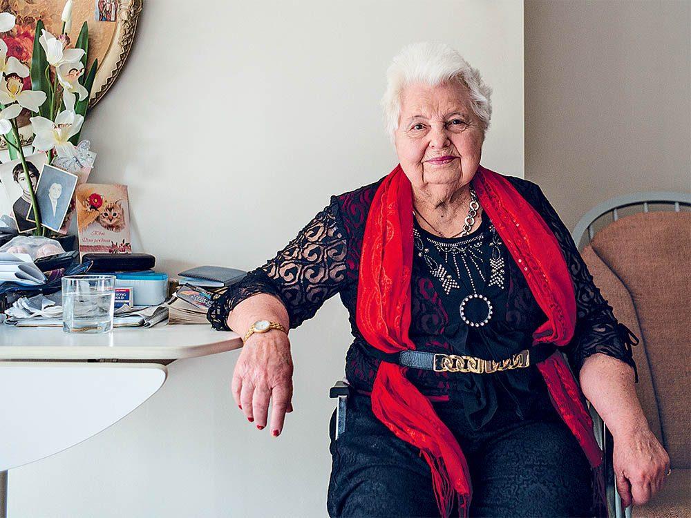 Veronika Piela a une excellente mémoire et est tout à fait apte à prendre des décisions.