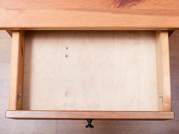 Rafraichissez vos tiroirs avec des lingettes pour bébé.