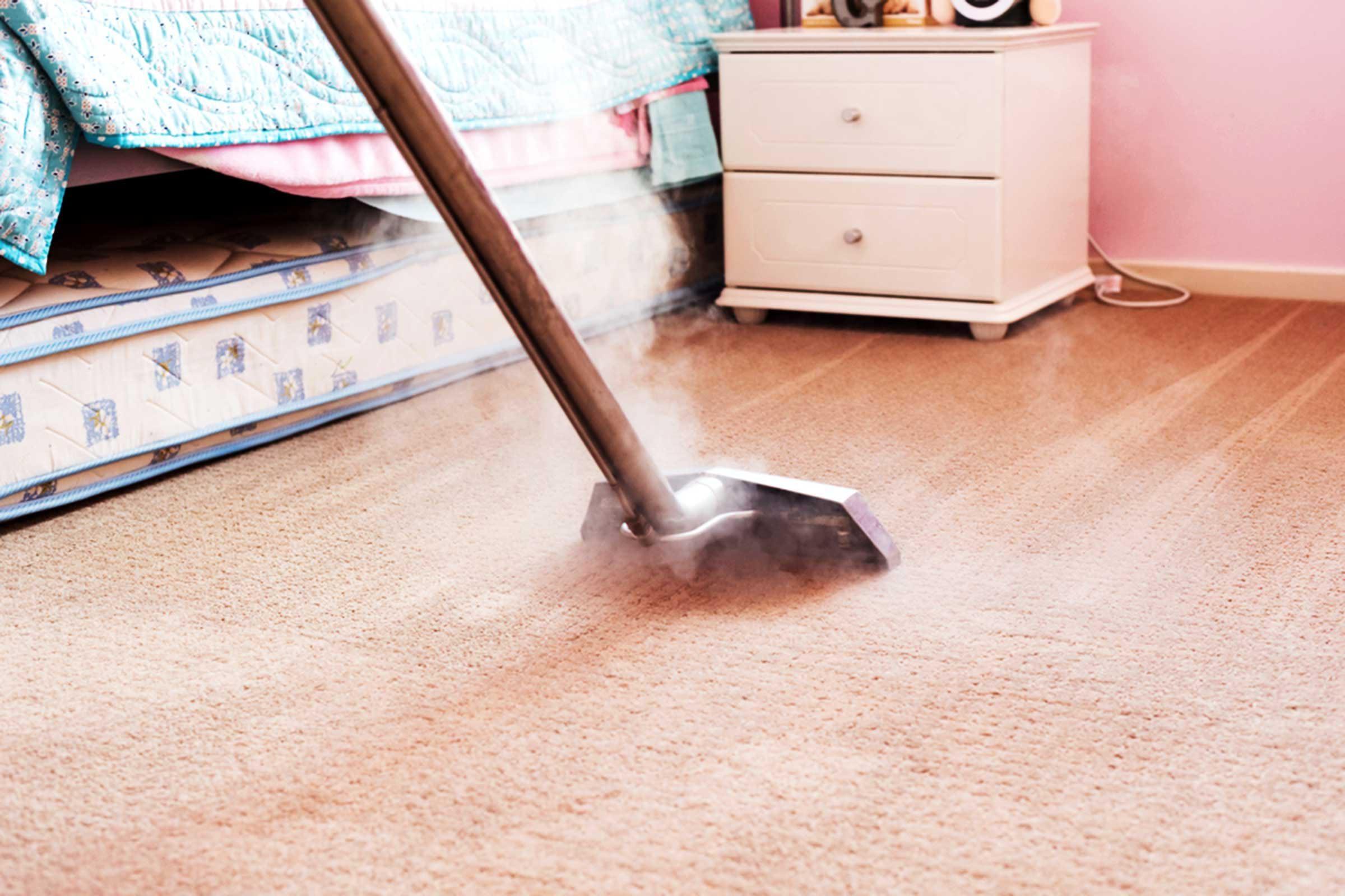 Pour mettre en valeur votre maison, faites un nettoyage de vos tapis.