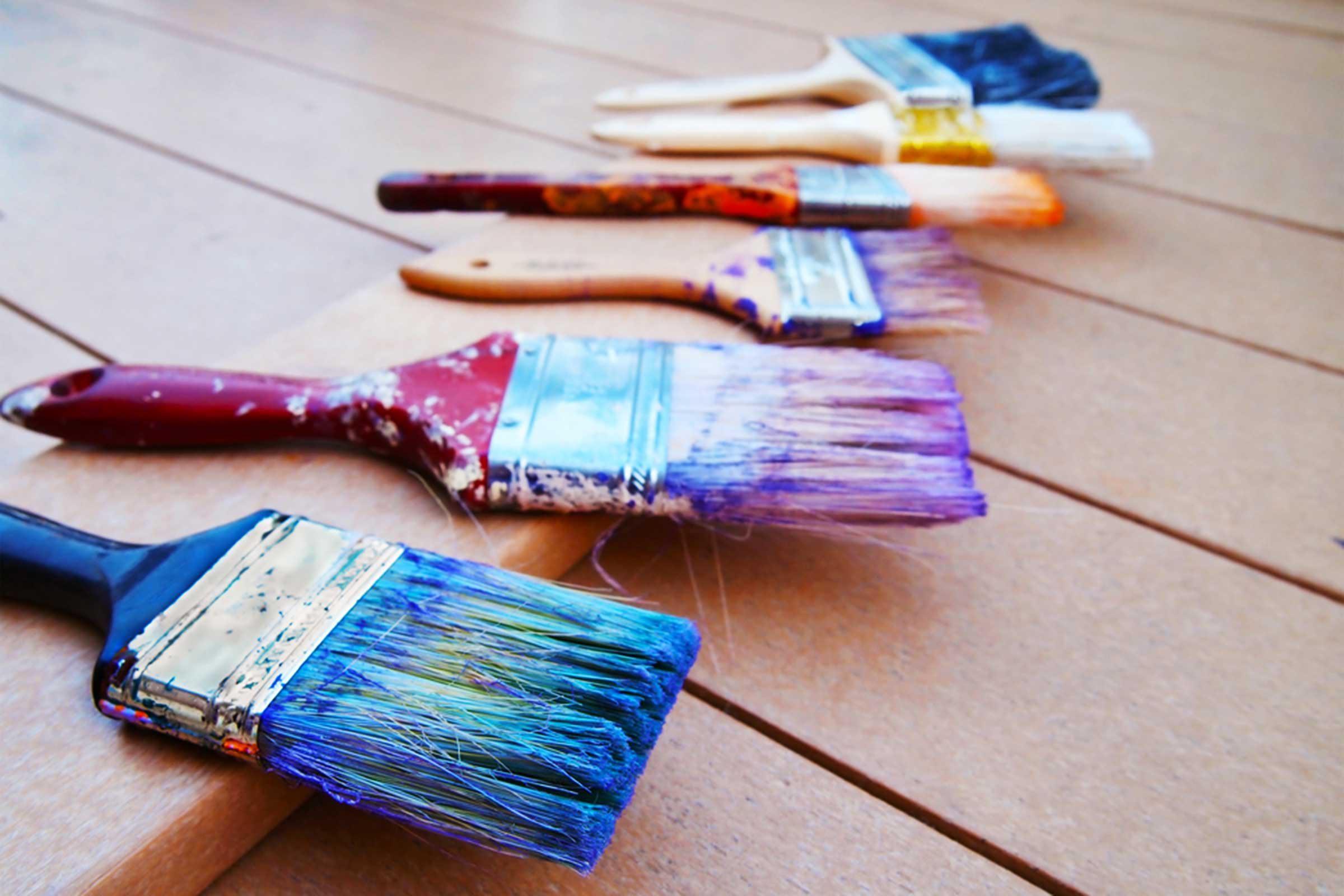 Embellissez votre maison avec un coup de pinceau.