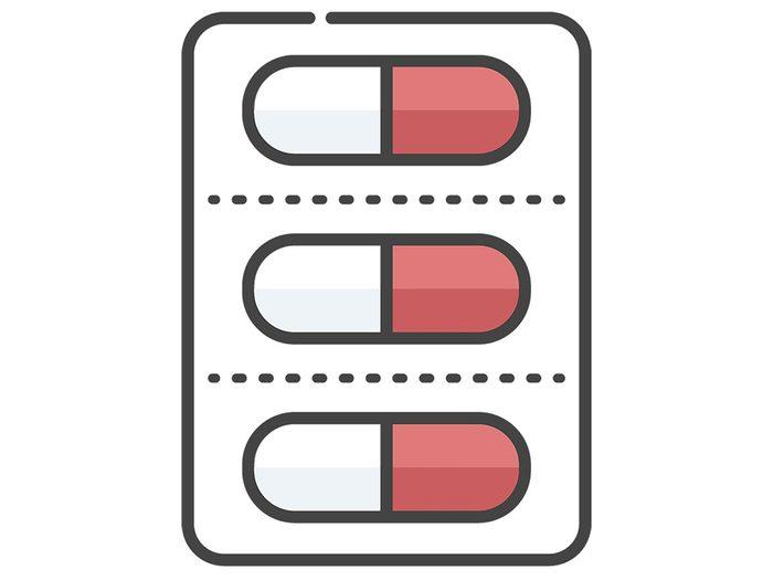 Prendre un médicament connu pour ses effets secondaires. Traitement Effets Secondaires