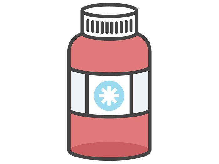 Prendre de nouveaux médicaments, suppléments ou vitamines.