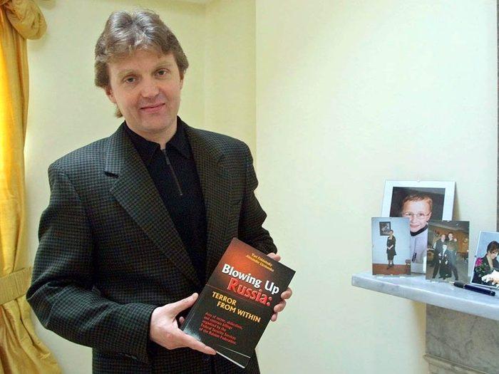 Crime non élucidé: l'empoisonnement d'Alexander Litvinenko.