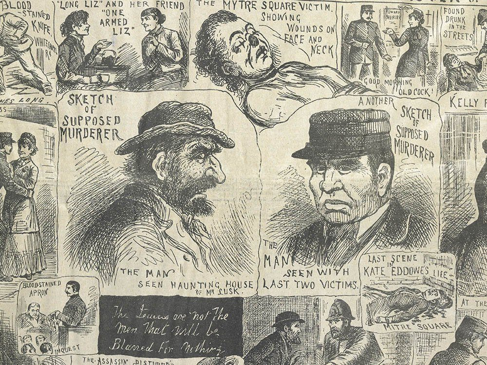 Les crimes de Jack l'éventreur restent non élucidés.
