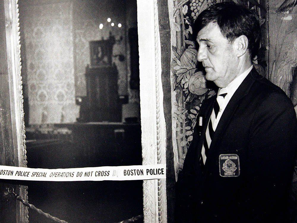 Crime non élucidé: Le cambriolage du musée Gardner.