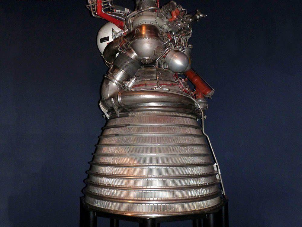 Le palmarès des objets volés les plus étranges comprend un moteur de fusée de la NASA.