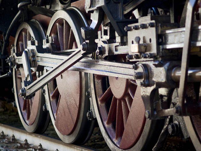 Le palmarès des objets volés les plus étranges comprend un train
