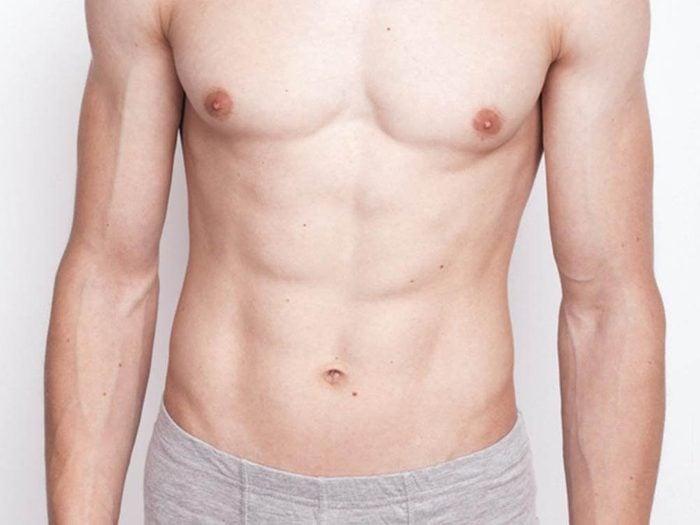 L'entrejambe est l'une des parties du corps que vous ne lavez pas assez.