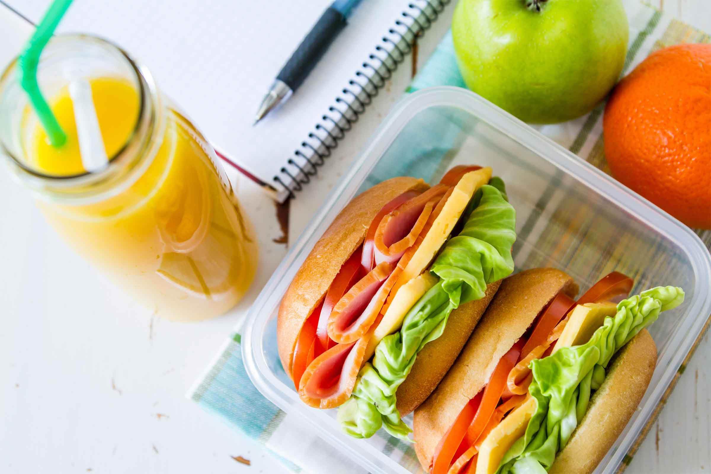 Pensez à votre pause repas et préparez votre lunch à l'avance.