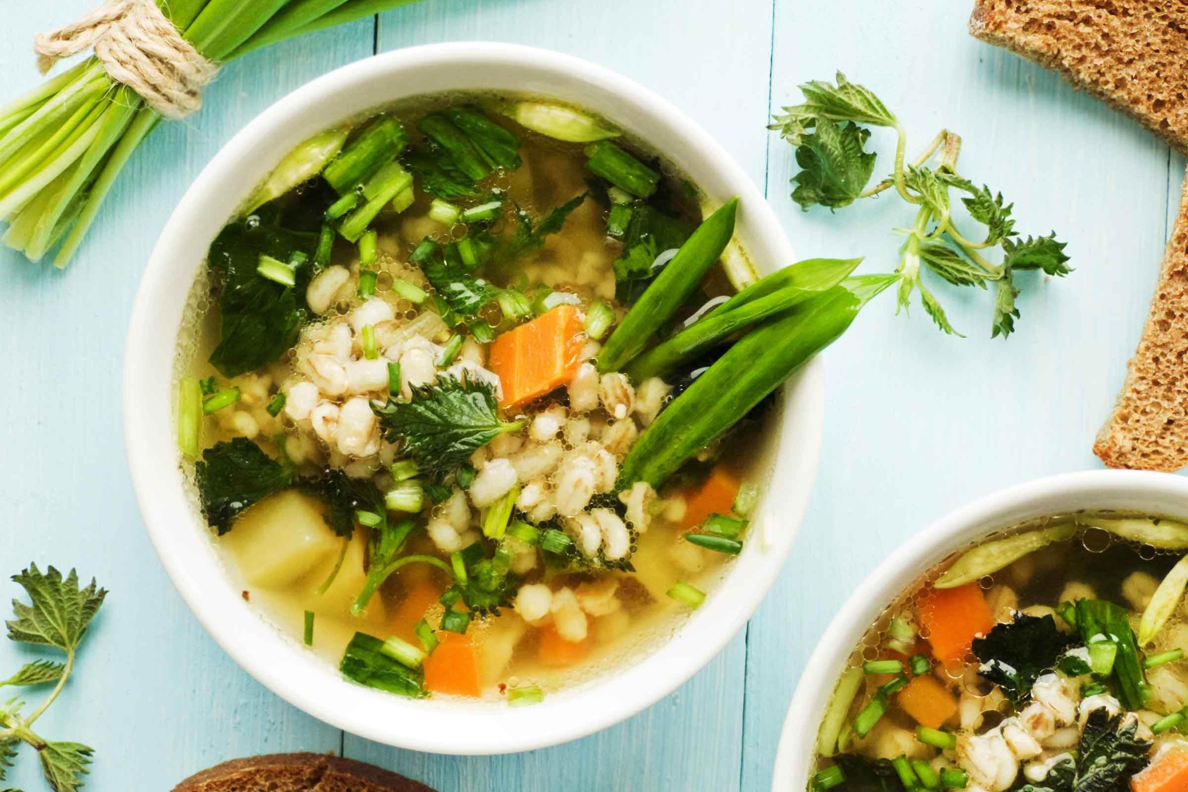 Pour votre pause repas, choisissez de manger de la soupe.