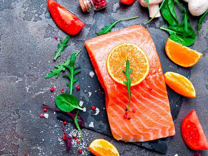 Régalez-vous de saumon c'est bon pour votre peau!