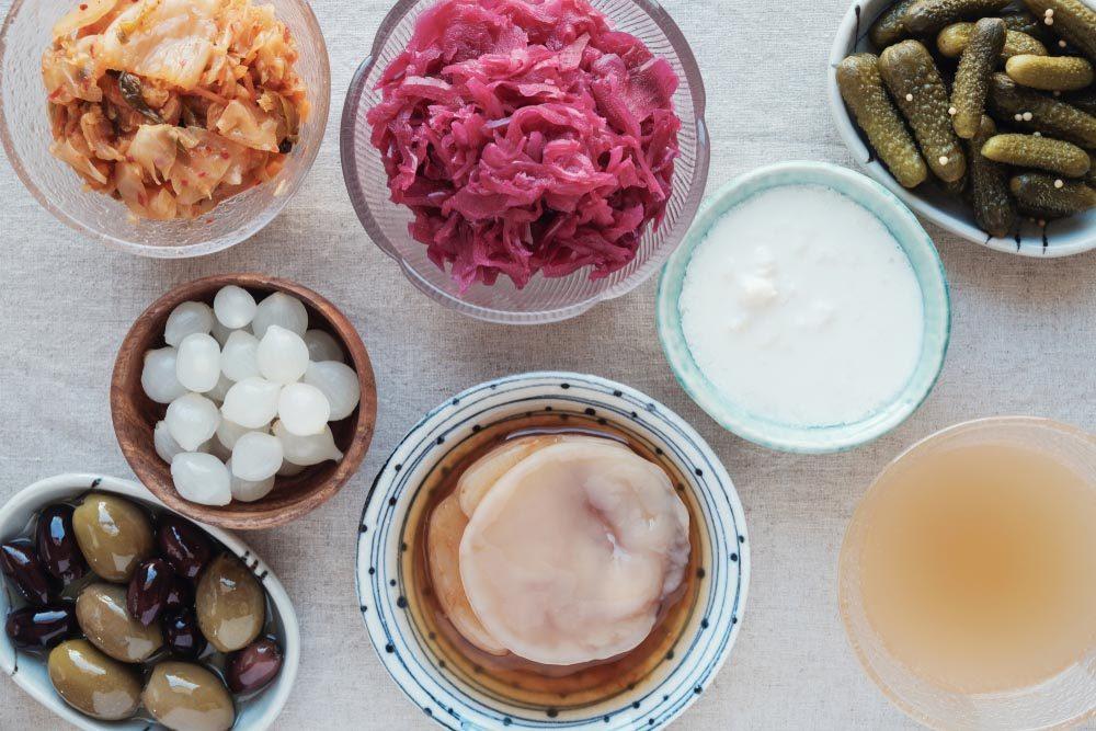 Probiotiques et prébiotiques: apprenez à les différencier.