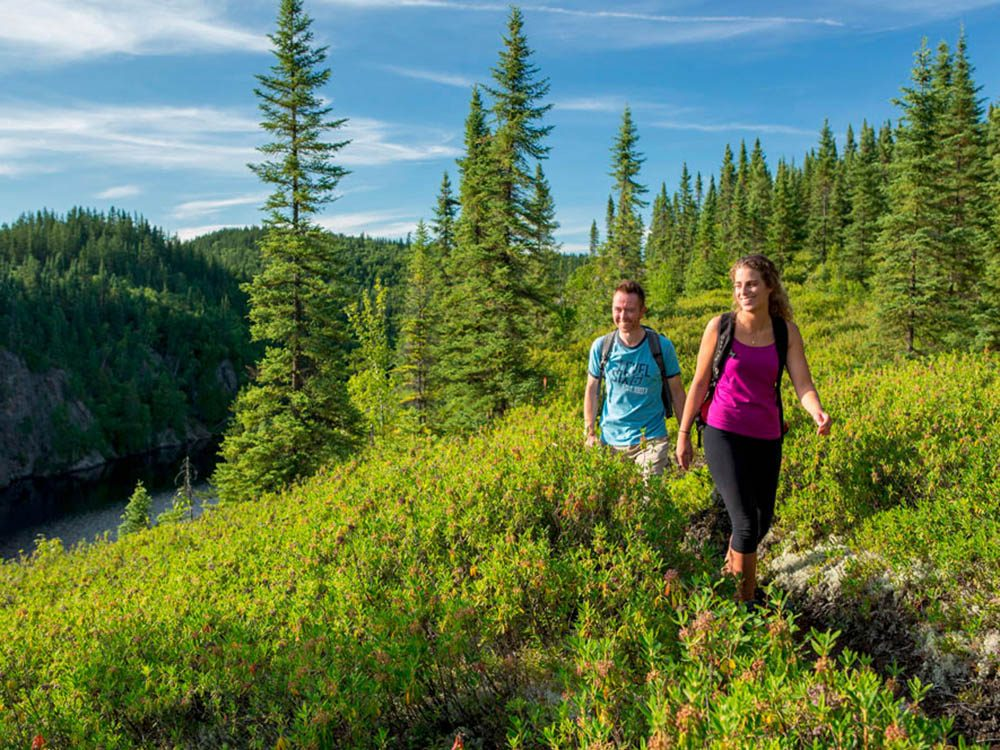 Profitez d'une randonnée pédestre au parc national d'Aiguebelle.