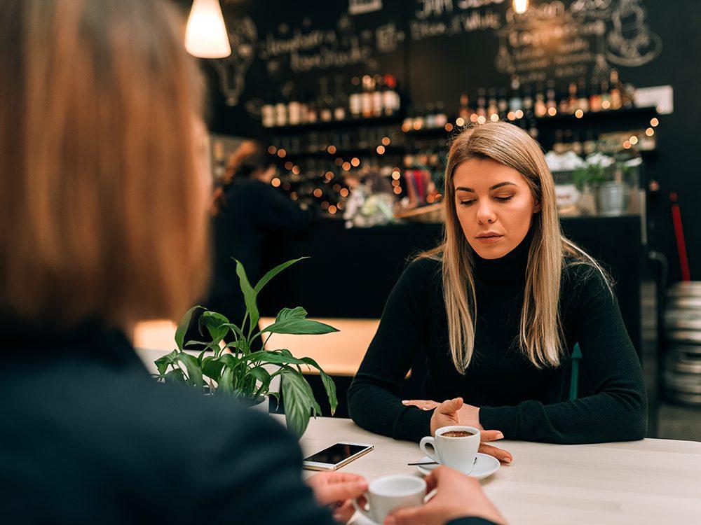Après une rupture, évitez de dire du mal de votre ex.