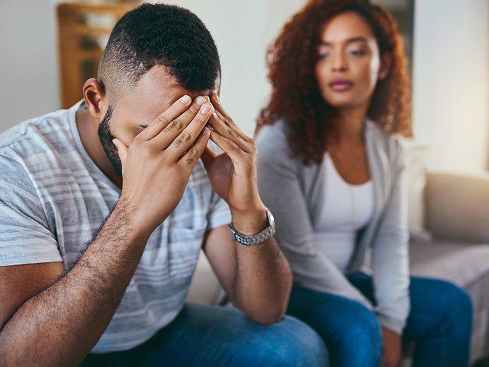 N'idéalisez pas trop votre ex après la rupture.