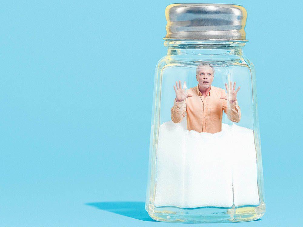 Le sel fait des ravages sur la tension artérielle