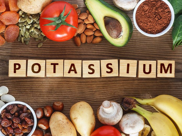 Sel et santé: la carence de potassium vous handicape.