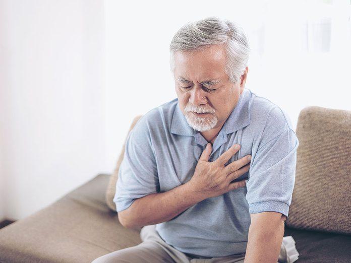 Sel et santé: il augmente le risque de défaillance cardiaque.