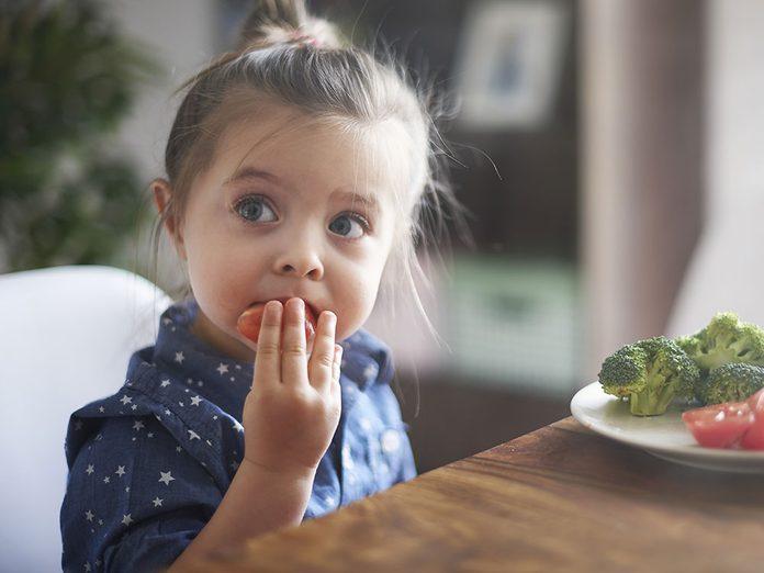 Sel et santé: les enfants en absorbent trop.
