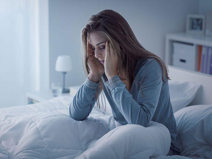 Santé: le sel peut perturber le sommeil.