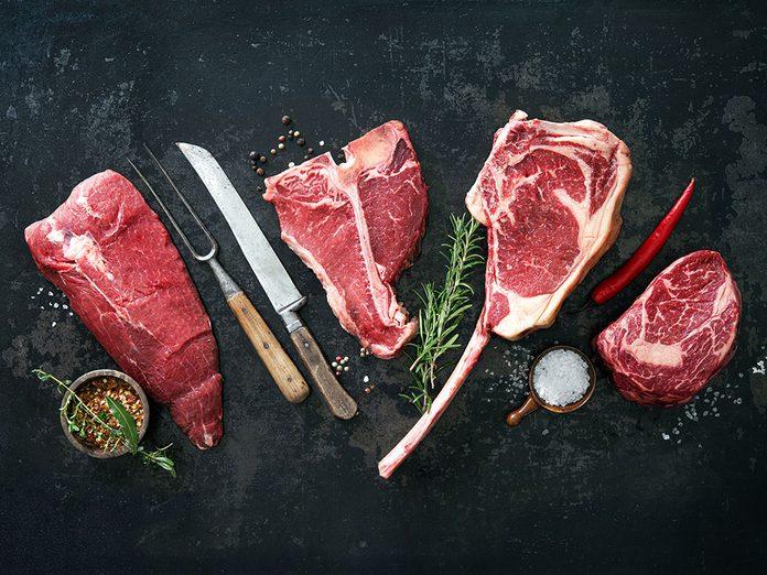 Santé: du sel est injecté dans la viande fraîche.