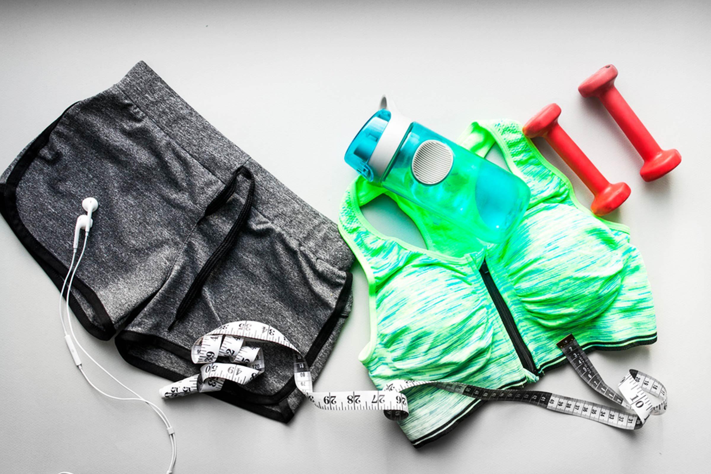 Couchez-vous dans vos vêtements de sport, pour augmenter votre efficacité