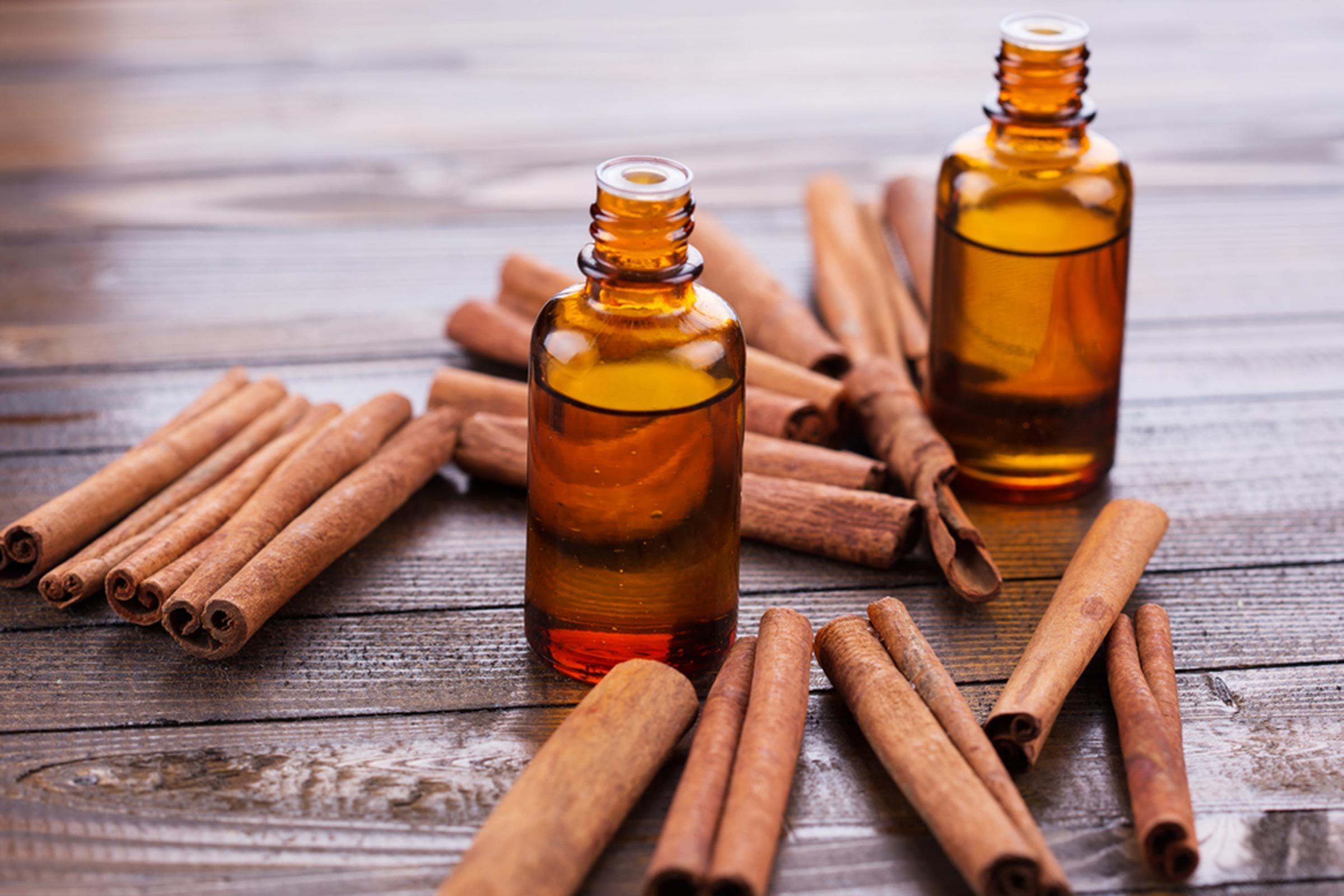 Huiles essentielles pour soulager les crampes : L'huile de cannelle