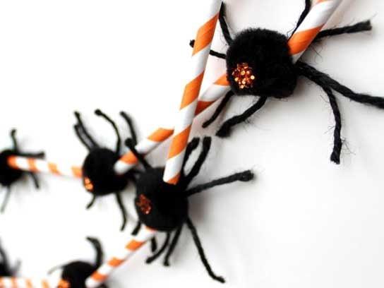 Décorations d'Halloween: Guirlandes d'araignées
