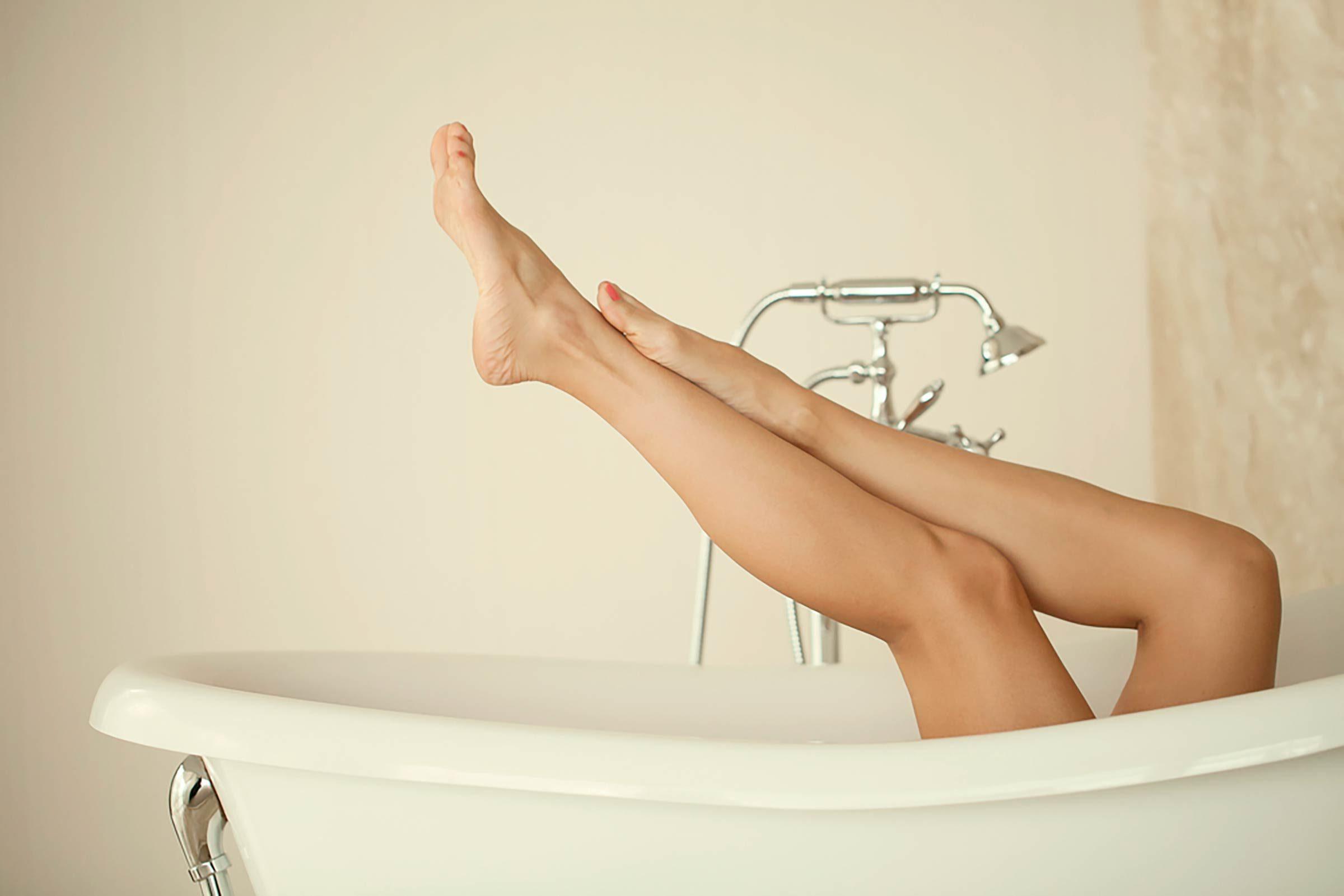 Effet beauté du vinaigre de cidre: adoucir la peau