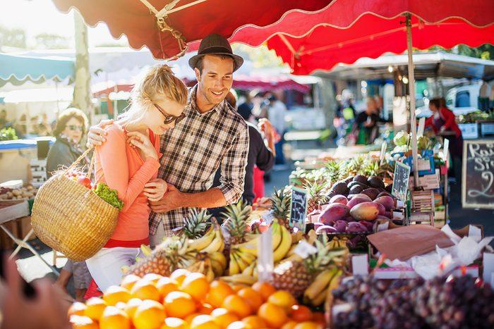 Manger des produits locaux, pour augmenter son espérance de vie