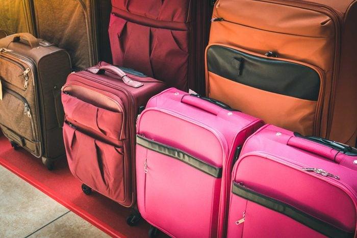 N'achetez pas de valises à l'aéroport