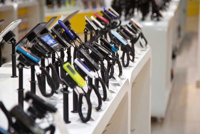 N'achetez pas d'appareils électroniques à l'aéroport