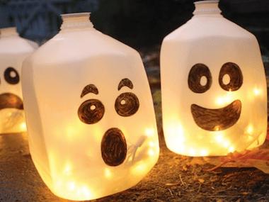 Décorations d'Halloween : Lanternes fantômes