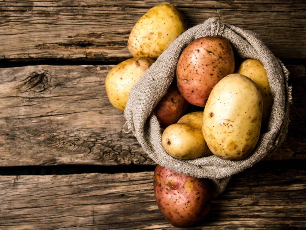Alzheimer : réduisez le risque en faisant tremper vos pommes de terre avant de les cuire.