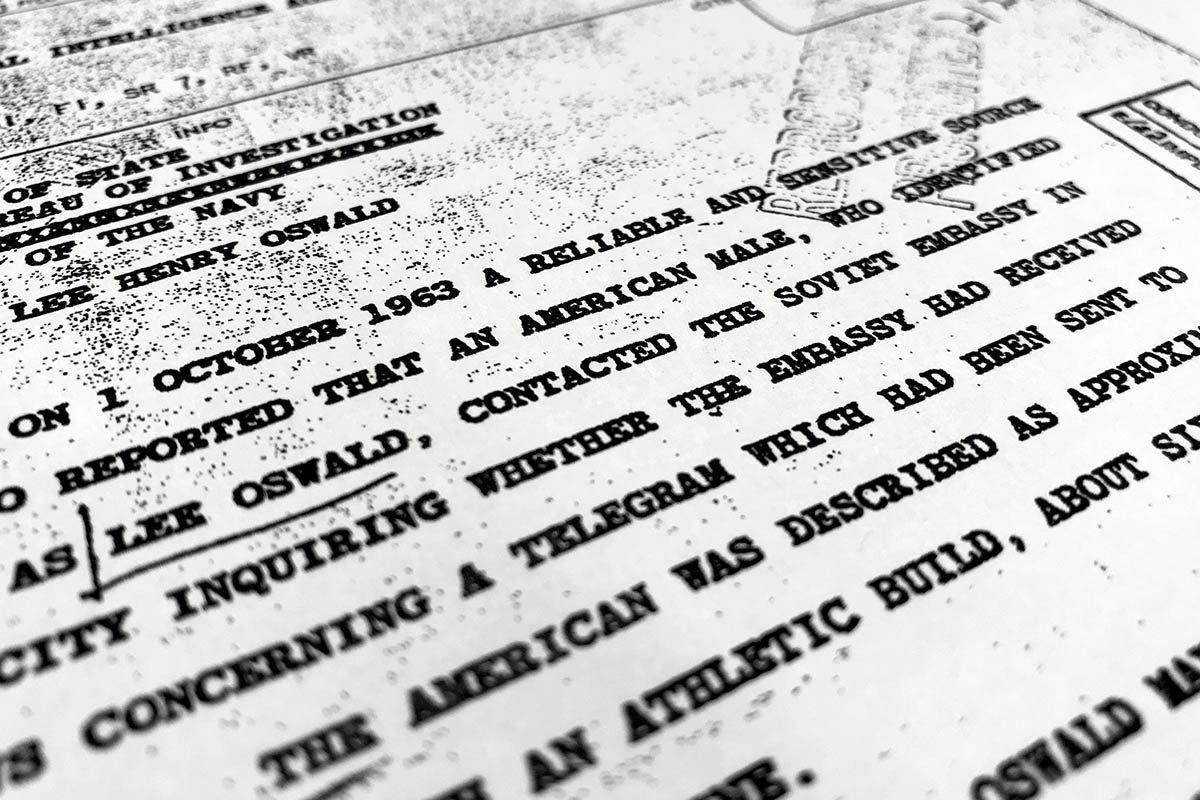 Le rapport sur l'assassinat de JFK manque de transparence.