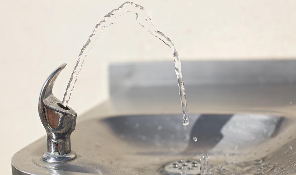 Évitez d'attraper un rhume : méfiez-vous des fontaines à eau.