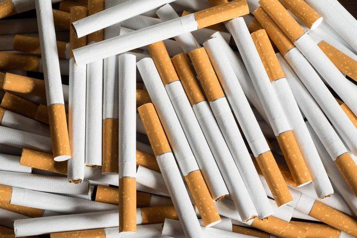 Vous risquerez moins d'attraper un rhume en arrêtant de fumer.
