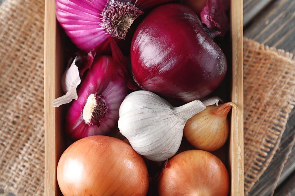 Pour ne pas attraper un rhume, cuisinez les oignons.