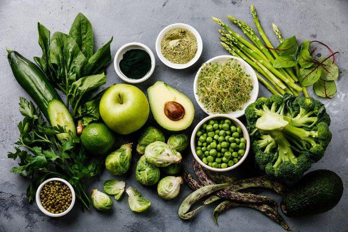 Pour ne pas attraper un rhume, faites le plein de légumes.