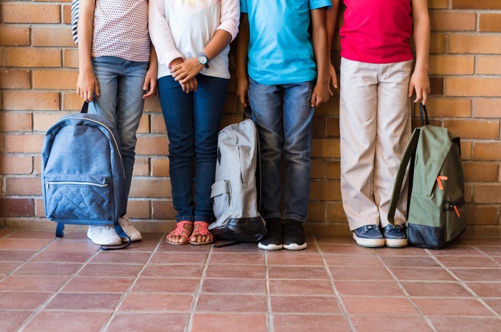 Évitez d'attraper un rhume en ne laissant pas les microbes de l'école rentrer chez vous.